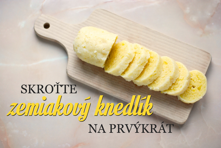 zemiaková knedľa recept