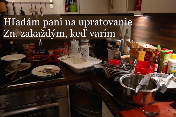 ako udržať poriadok pri varení